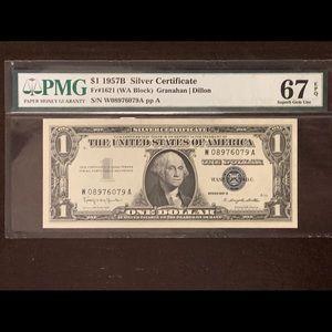 1957B Silver Certificate